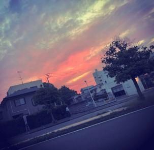 帰りの夕焼け.jpg
