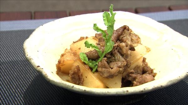大根の韓国風煮物