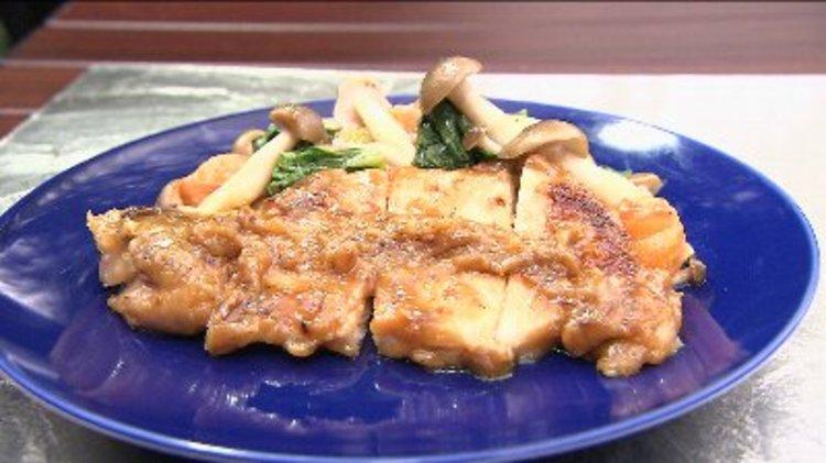仙高ポークの味噌漬け焼き