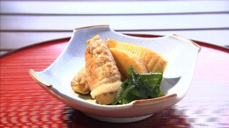 筍と豚肉の甘煮