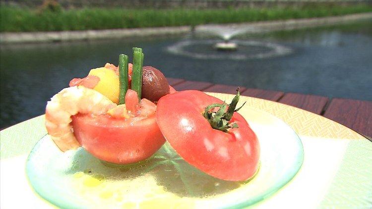 ダブルトマトカップサラダ