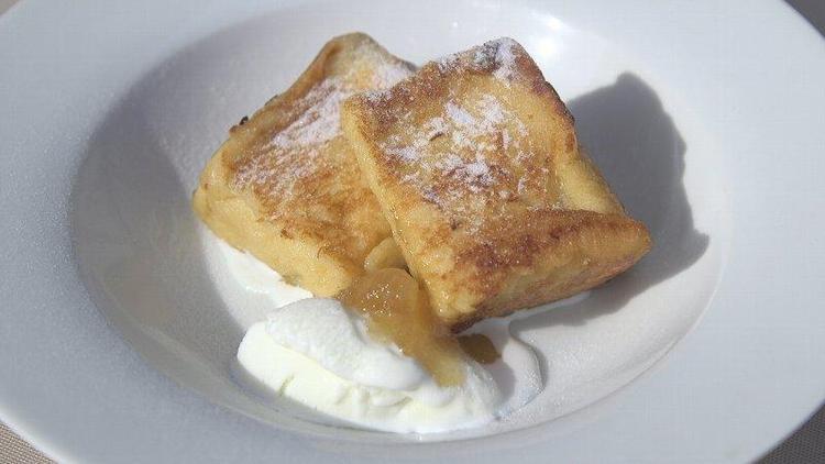 地蜜のハニーフレンチトースト