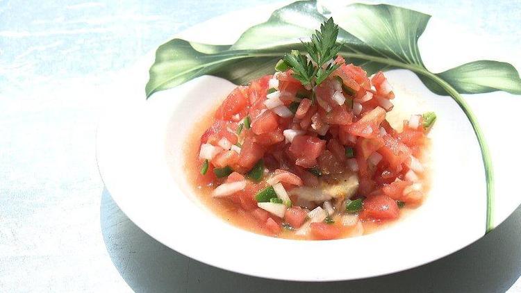 トマトたっぷりサルサソース