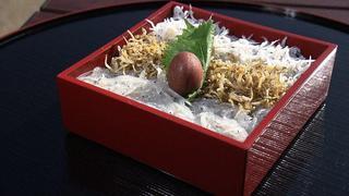 三種のしらす寿司