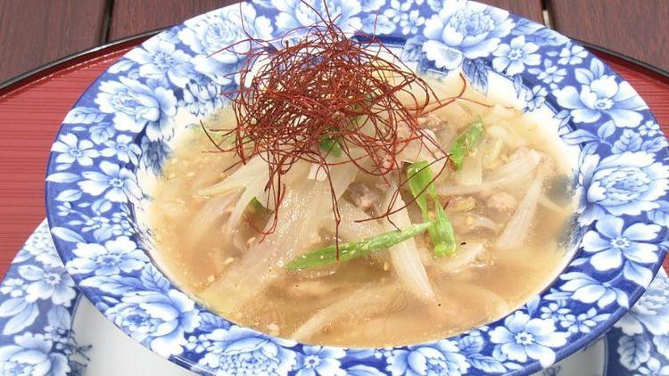 タマネギのアジアンスープ