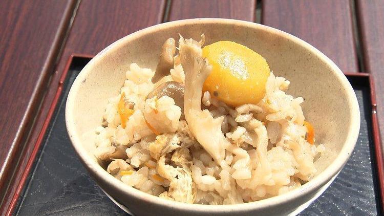 みま米の舞茸ご飯