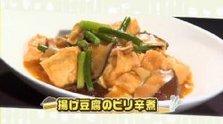 第188回放送 揚げ豆腐のピリ辛煮
