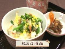 第306回放送 桜エビと菜の花ご飯