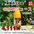 愛媛 西宇和産 越冬有袋みかん 『小太郎ジュース (780ml×2本)』 【送料無料】