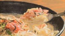 女性に人気の、飲みのシメにも食べられるあっさりクリームスパが登場!