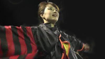 松山まつり 野球拳おどりに岡田麻希が挑戦!