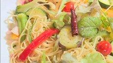 地元野菜にこだわる!!味わい豊かな大洲野菜のペペロンチーノ