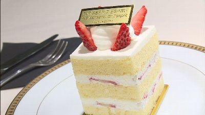 スポンジとクリームが一体となったおいしさ!ケーキが登場!