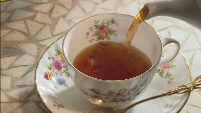 紅茶専門店で、香りが良く後味もスッキリしておいしい。アフタヌーンティーセットが登場!
