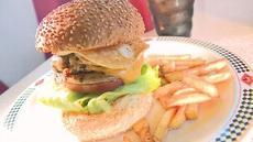 ボリューム満点のハンバーガーが登場!
